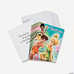 8 Tinkerbell™ Thank You Cards