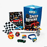 Race Car Filled Treat Bag