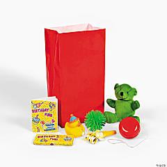 Feliz Cumpleaños Filled Treat Bags