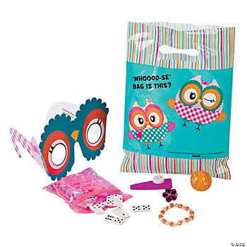 You're A Hoot Filled Treat Bags