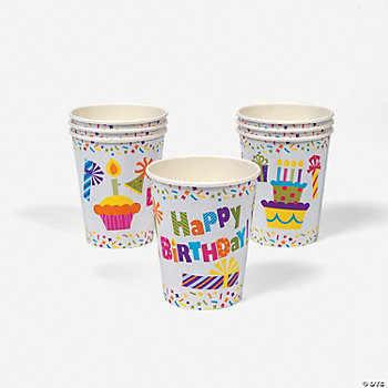 Birthday Celebration Cups