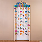 Hanukkah Door Curtain