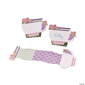 12 Tea Party Placecards