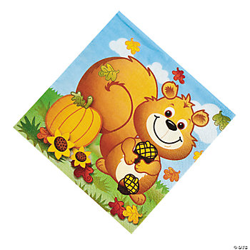 Fall Critters Luncheon Napkins