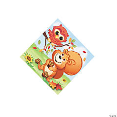 Fall Critters Beverage Napkins
