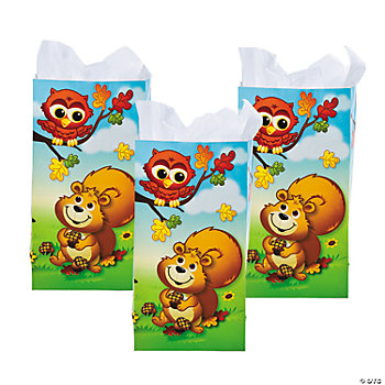 Fall Critters Treat Bags