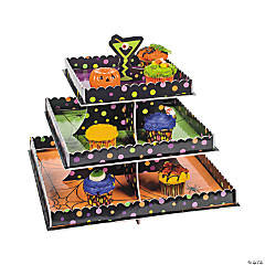 Halloween Cocktail Tiered Tray