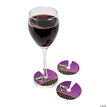 Halloween Cocktail Drink Glass Rings