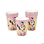 Minnie's 1st Birthday Cups