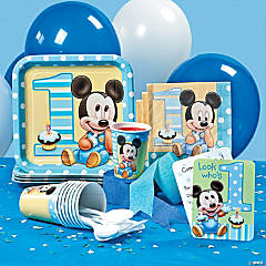 Mickey's 1st Birthday Basic Party Pack