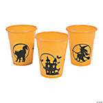 Halloween Silhouette Disposable Cups