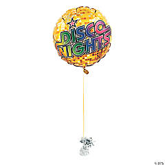 Disco Ball Mylar Balloons