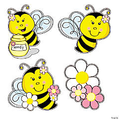 Bee Party Cutouts