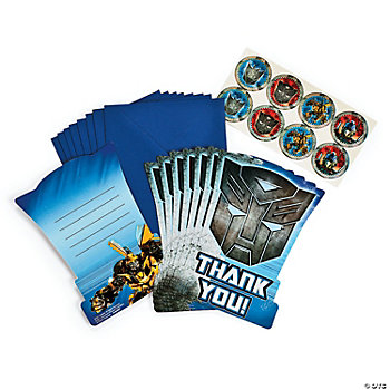 "Transformers 3™ Dark Of The Moon ""Thank You"" Cards"