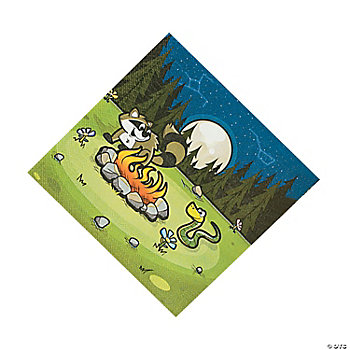 Camp Adventure Lunch Napkins