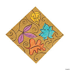 Autumn Leaves Luncheon Napkins
