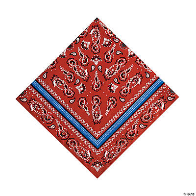 Red Bandana Luncheon Napkins