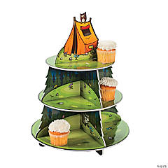 Camp Adventure Cupcake Holder