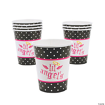 """Lil' Angel"" 1st Birthday Cups"