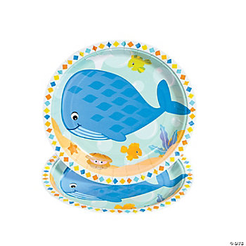 Under The Sea Boy Dessert Plates