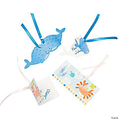 Under The Sea Boy Favor Tags