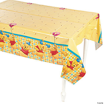 Pooh's 1st Birthday Table Cover