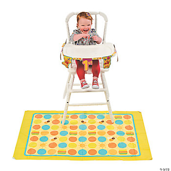2 Pc. Pooh's 1st Birthday High Chair Decorating Kit