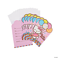 Hello Kitty® Balloon Dreams Invitations