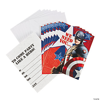 Captain America™ The First Avenger Invitations