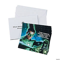 Green Lantern™ Thank You Cards