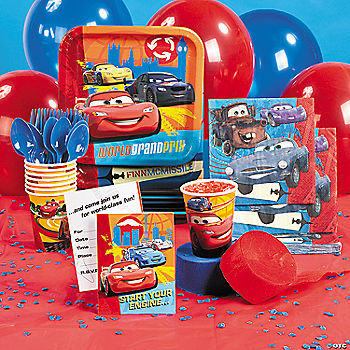 Cars 2 Basic Party Pack