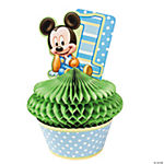 Mickey's 1st Birthday Centerpiece