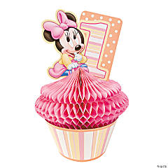 Minnie's 1st Birthday Centerpiece