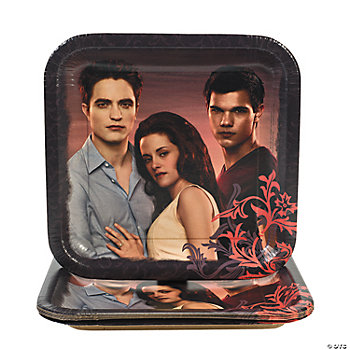Twilight Breaking Dawn Square Dinner Plates