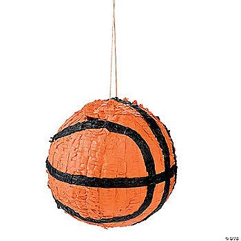 how to make a basketball pinata