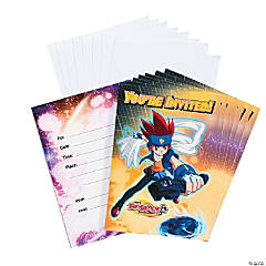 Beyblade: Metal Fusion Invitations