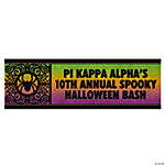 Personalized Halloween Treat Banner - Small
