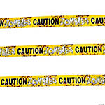 Zombies Caution Party Tape