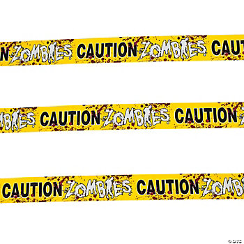 Zombies Party Caution Tape
