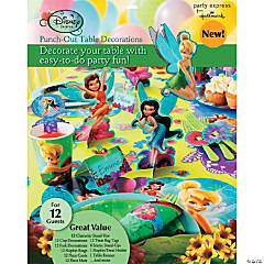 Disney Fairies Punch Out Table Decorations