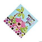 16 Safari Girl Lunch Napkins