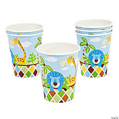 8 Safari Boy Cups