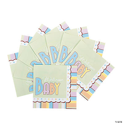 Special Delivery Baby Shower Luncheon Napkins
