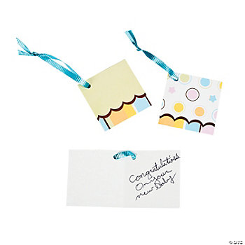 Special Delivery Favor Tags