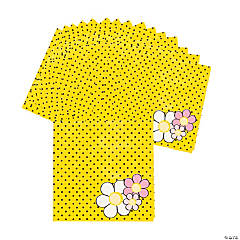 16 Bee Party Beverage Napkins