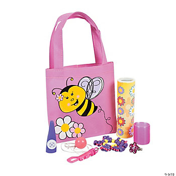Bee Party Filled Treat Bags