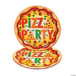 Pizza Party Banquet Plates