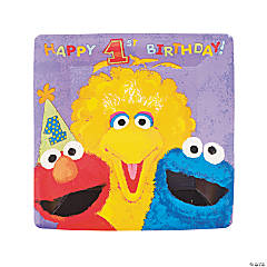 Sesame Street® 1st Birthday Dinner Plates