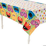 Sesame Street® 1st Birthday Table Cover
