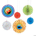 Sesame Street™ 1st Birthday Fan Decorations